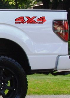 "Ford f150,gmc,dodge,chevy,toyota,honda truck 4x4 decals 20""x 4"""