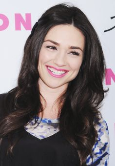 crystal reed is so gorgeous. She reminds me of Miranda Kerr