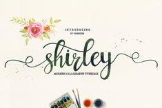 Shirley (50% off special valentine!) by vanroem on Creative Market