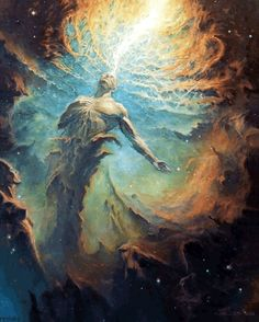 "rexisky: "" Ascension (Oil on Canvas) by Nick Keller 