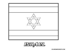 coloring pages israel  Google Search  preK  Pinterest  Israel