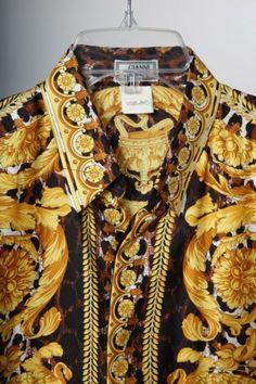 a basso prezzo 6edc5 9014b 38 fantastiche immagini su Shirts | Versace, Gianni versace ...
