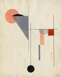 Corona Krause Composition, 1924