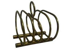 Brass Toast  Rack