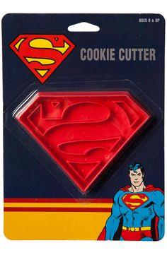 Superman Cookie Cutter: Superheroes Superman Cookie Cutters