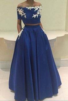 Boat Neck Evening Dress, Royal Blue Evening Dress, #prom #promdress #dress #eveningdress #evening #fashion #love #shopping #art #dress #women #mermaid #SEXY #SexyGirl #PromDresses