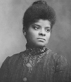 Ida B. Wells;  1862-1931;  Ida B. Wells was an African-American journalist, newspaper editor, suffragist and an early leader in the civil rights movement. She documented lynching in the United States, showing how it was often a way to control or punish blacks who competed with whites. She was active in the women's rights and the women's suffrage movement, establishing several women's organizations. Wells was a skilled and persuasive rhetorician, and traveled internationally on lecture tours.