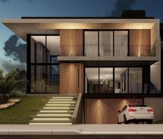 Exterior Design, Interior And Exterior, Lofts, Little Houses, Minimalist Home, My House, Stairs, Architecture, House Styles