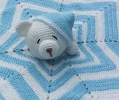 ¿Qué te parecería que la mantita de apego de tu hijo, nieto o sobrino fuera u… – Değiştiriniz Crochet Security Blanket, Crochet Lovey, Crochet Baby Toys, Lovey Blanket, Crochet Blanket Patterns, Baby Blanket Crochet, Crochet For Kids, Crochet Animals, Crochet Dolls