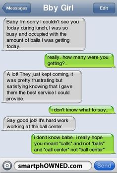 Balls TT - - Autocorrect Fails and Funny Text Messages - SmartphOWNED