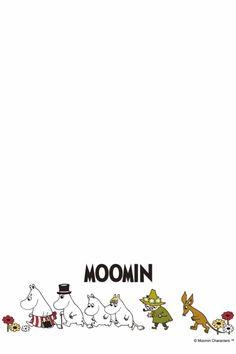 Moomin Wallpaper, Iphone Wallpaper, Original Image, Childhood, Lettering, Cute, Character, Illustrations, Inspiration