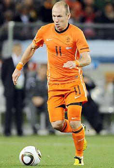 Arjen Robben. Most of you (my followers) don't like soccer. Idc