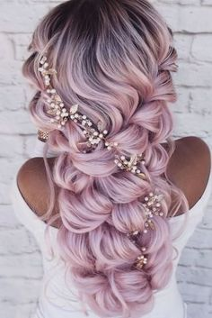 Pretty Hairstyles, Braided Hairstyles, Wedding Hairstyles, Amazing Hairstyles, Bohemian Hairstyles, Beautiful Hair Color, Cool Hair Color, Boho Wedding Hair, Bridal Hair