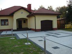projekty kostki brukowej przed domem | ... wg Projektu aranżacji nawierzchni…
