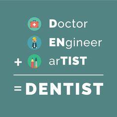 Dentaltown - Doctor + ENgineer + arTIST = DENTIST