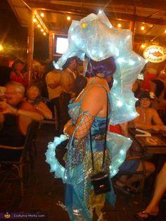 Seahorse Siren (opposite side shot), Seahorse Siren Costume Little Mermaid Costumes, The Little Mermaid, Halloween Costume Contest, Halloween Art, Costume Ideas, Happy Halloween, Under The Sea Decorations, Room Decorations, Sea Creature Costume