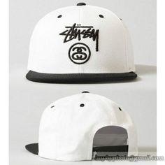 64dd141d171 Cheap Wholesale Stussy Snapback Fashion Hats White Black 82 for slae at  US 8.90  snapbackhats  snapbacks  hiphop  popular  hiphocap  sportscaps   fashioncaps ...