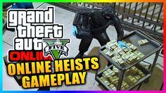 GTA ONLINE HEISTS GAMEPLAY! - GTA 5 Online Heists Gameplay Mission (Setting Up GTA 5 Heists)