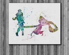 Rapunzel and Flynn ♡  https://www.etsy.com/listing/215889724/rapunzel-tangled-disney-watercolor-art