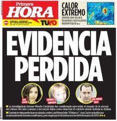 En portada: Fallos en la escena del crimen en caso Lorenzo -...