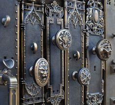 Reproduction Antique Door Locks decorative push plate solid brass reproduction antique door push