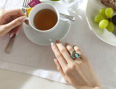 【ELLE】「ポメラート」のリングで彩る指先のストーリー|エル・オンライン