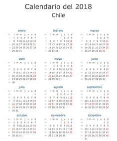 Calendario oficial feriados Chile 2018: ¡Con fiestas patrias de 5 días!