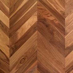 Kentwood Couture Collection Chevron Herringbone in Walnut