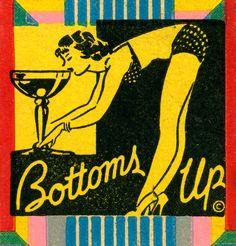 1930s matchbooks advertised naughty nightclub fun