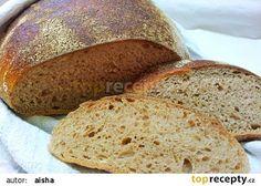 Kvaskovy chleb bez hneteni recept - TopRecepty.cz
