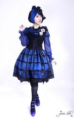 Lolita in Blue