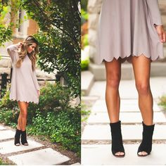 Love the dress and the shoes!