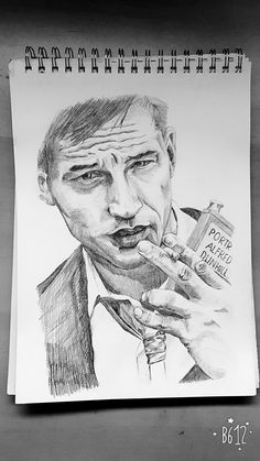 Tom Hardy Pencil Drawings, My Drawings, Tom Hardy, Designs To Draw, Photoshop, Illustration, Art, Illustrations, Kunst