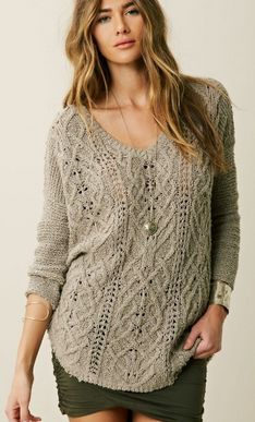 Free People:CROSS MY HEART PULLOVER
