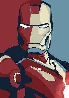 P0106 Железный Человек Marvel Герой Комиксов Плакат Стены Домашнего Декора…