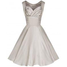 'Ophelia' Gold Swing Dress