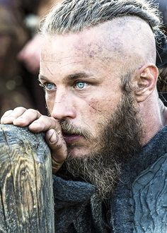Travis Fimmel History channel's Vikings. When they can kill you with one look, I'm in love.