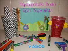 Crochet y demos: #Empaquetado Bonito- Vasos