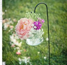 wedding ceremony flower arrangements altar - Google Search