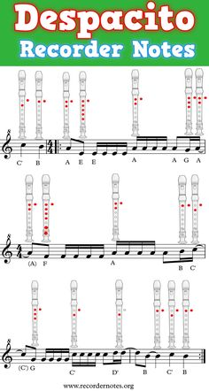 🥇 Despacito on Recorder【 Learn with Letters】 Elementary Music Lessons, Music Lessons For Kids, Music For Kids, Elementary Art, Art Lessons, Recorder Fingering Chart, Flute Fingering Chart, Star Wars Sheet Music, Flute Sheet Music