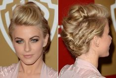 edgy updo
