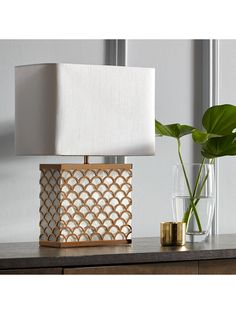 Buy John Lewis & Partners Delores Capiz Shell Table Lamp, Satin Brass from our Desk & Table Lamps range at John Lewis & Partners. Table Desk, Table Lamp, Brass Metal, John Lewis, Space Saving, Shells, Furniture, Ebay, Satin