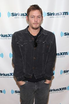 Actor Norman Reedus visits SiriusXM Studio on February 22, 2012 in New York City.