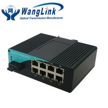 Industrial media converter, Industrial media converter direct from Shenzhen Wanglink Communication Equipment Technology Co., Ltd. in China (Mainland)