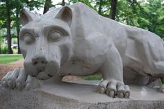 The Lion Shrine. WE ARE....PENN STATE!