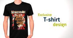 T-shirt Design Shirt Designs, Mens Tops, T Shirt, Fashion, Supreme T Shirt, Moda, Tee Shirt, Fashion Styles, Fashion Illustrations
