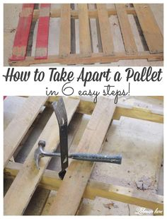 Wooden Pallet Projects, Diy Pallet Furniture, Diy Furniture Projects, Pallet Wood, Diy Projects Using Pallets, Pallet Decking, Pallet Barn, Furniture Refinishing, Barn Wood