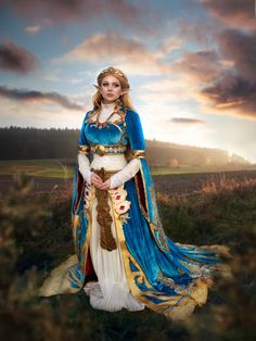 Cosplay-princess zelda from the legend of zeld : breath of the wild Cosplay Outfits, Cosplay Girls, Cosplay Costumes, Idee Cosplay, Amazing Cosplay, Best Cosplay, Legend Of Zelda Costume, Legend Of Zelda Breath, Cool Costumes