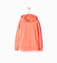 ZARA - KIDS - Hooded sweatshirt