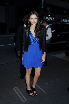 nina dobrev party dress